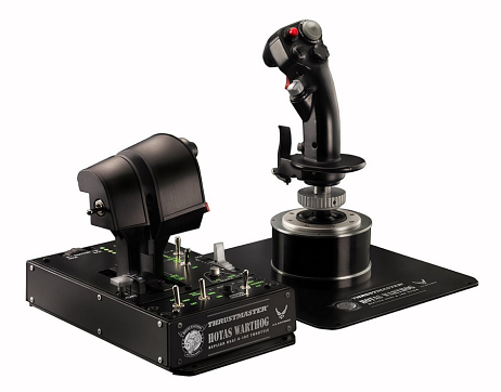 ThrustMaster Hotas Warthog - Ensemble de Joystick HOTAS réplique de l'avion d'attaque A-10C de l'U.S. Air Force - PC